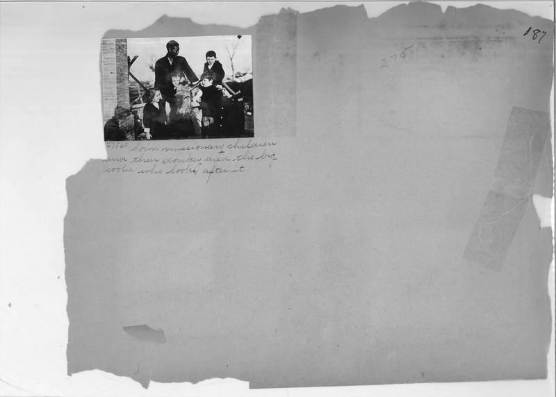 Mission Photograph Album - China #7 page 0187