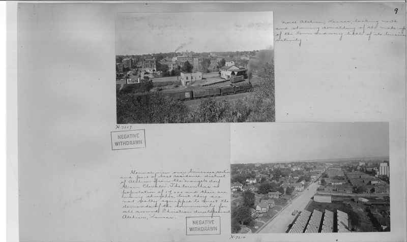 Mission Photograph Album - Cities #4 page 0009
