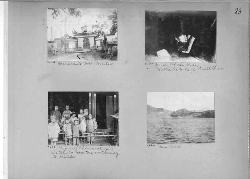Mission Photograph Album - China #2 page  0083