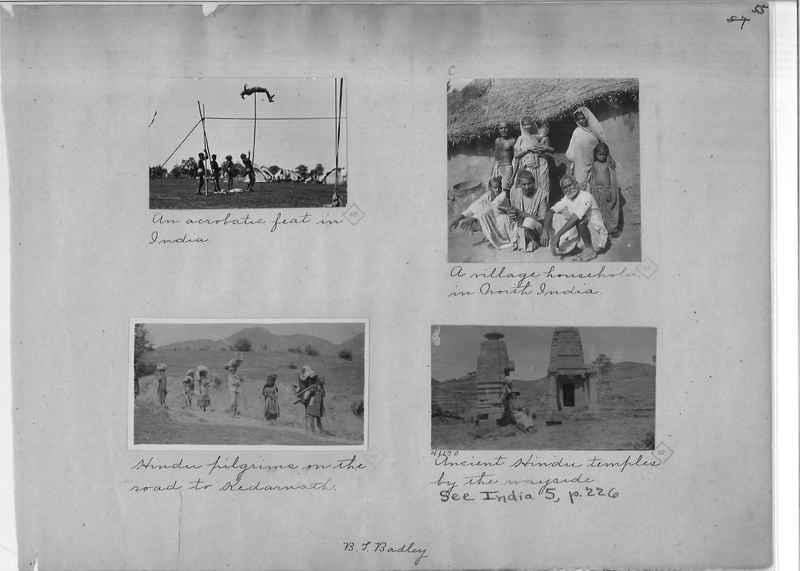 Mission Photograph Album - India - O.P. #01 Page 0055