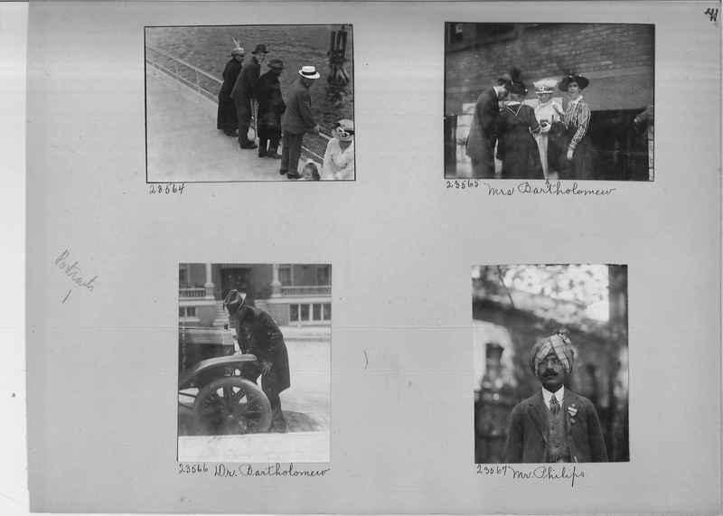 Mission Photograph Album - Portraits #1 page 0041