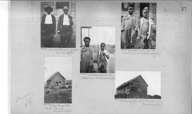 Mission Photograph Album - Negro #4 page 0087