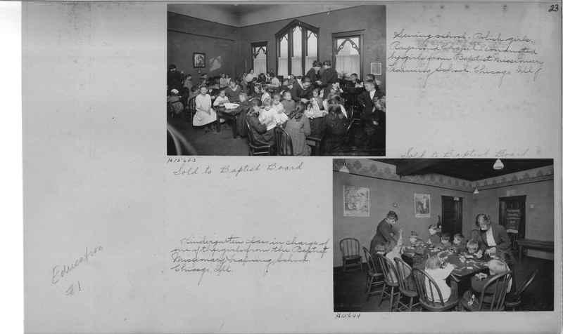 Mission Photograph Album - Education #1 page 0023