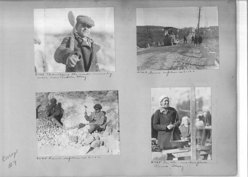 Mission Photograph Album - Europe #04 Page 0041
