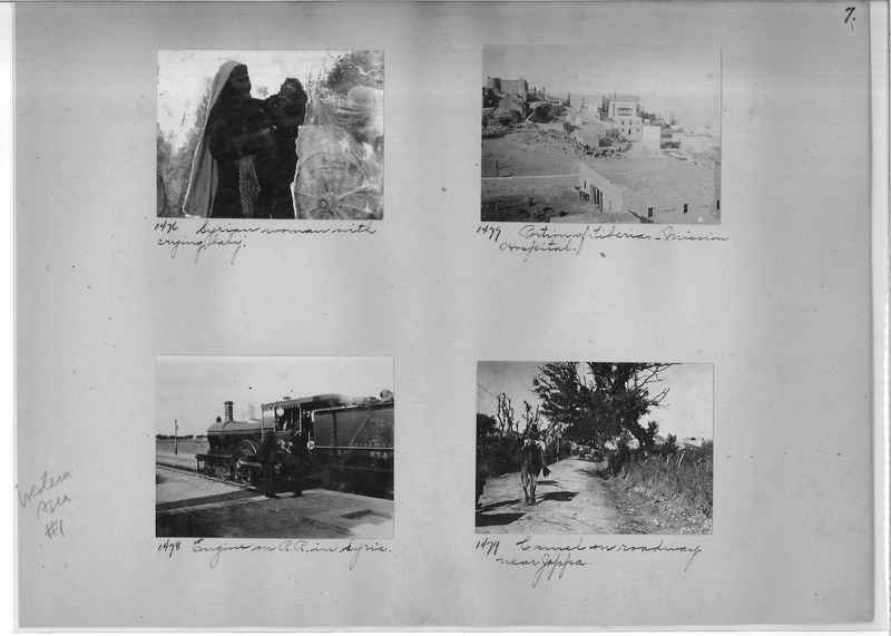 Mission Photograph Album - Western Asia - #01 page_0007