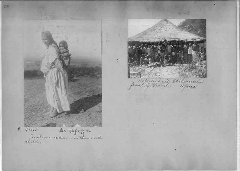 Mission Photograph Album - Africa - Madeira O.P. #2 page 0032