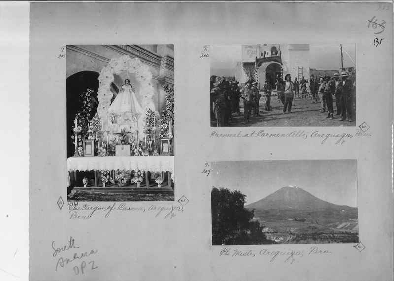 Mission Photograph Album - South America O.P. #2 page 0135