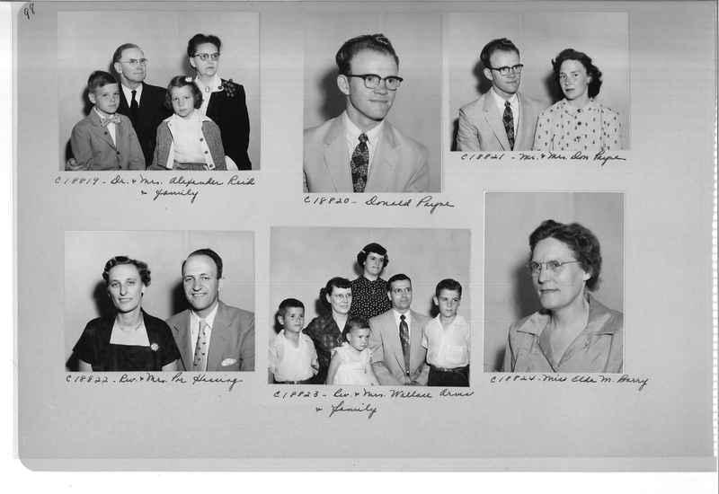 Mission Photograph Album - Portraits #08 Page 0098