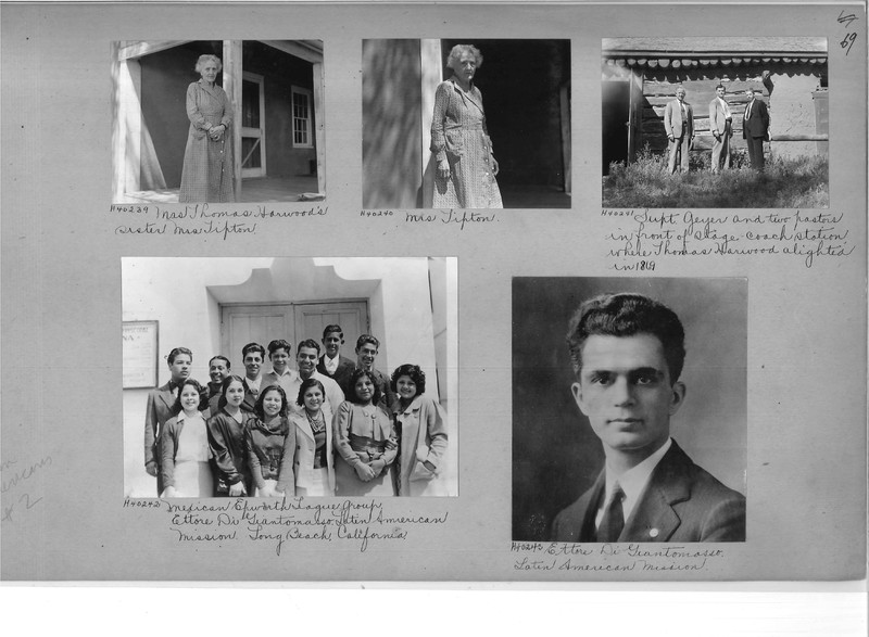 Mission Photograph Album - Latin America #2 page 0069
