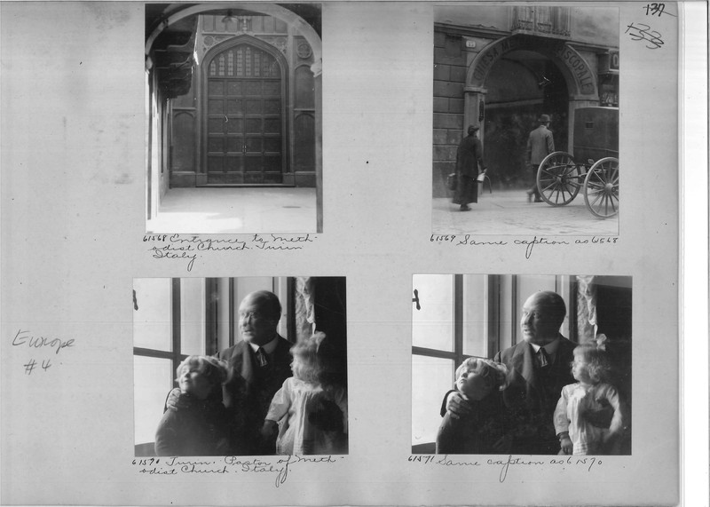 Mission Photograph Album - Europe #04 Page 0137