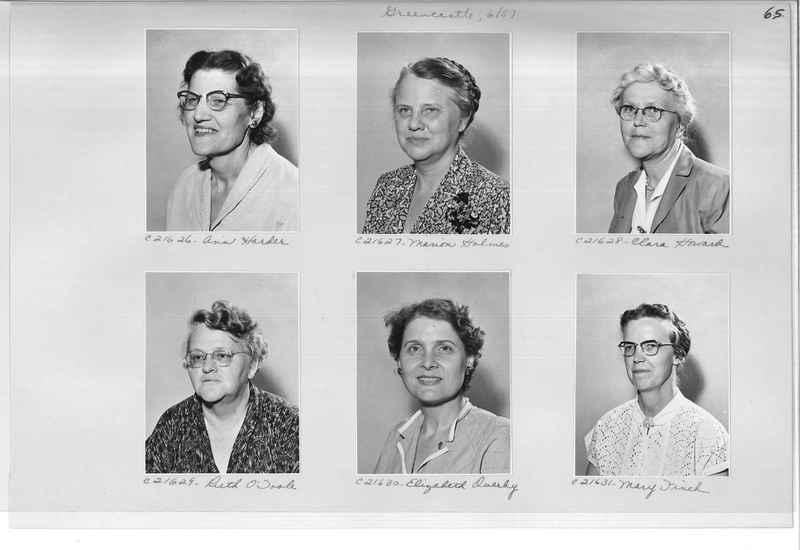 Mission Photograph Album - Portraits #10 Page 0065