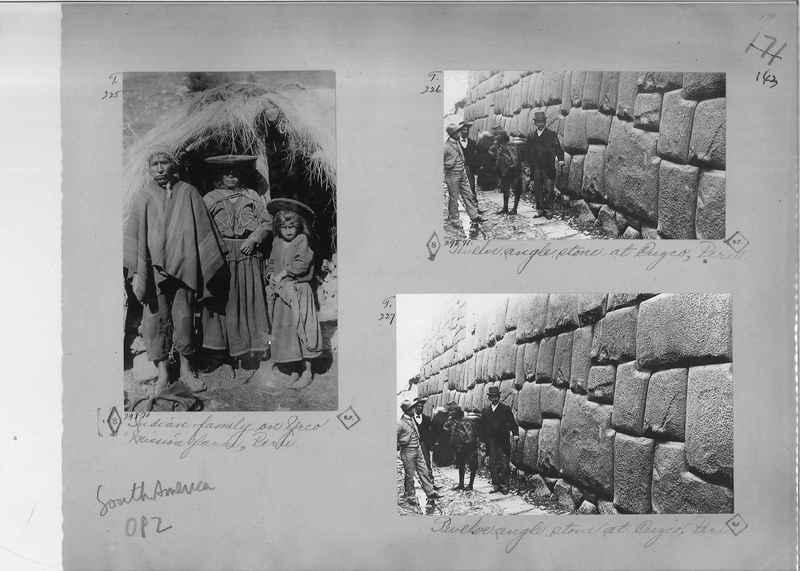 Mission Photograph Album - South America O.P. #2 page 0143