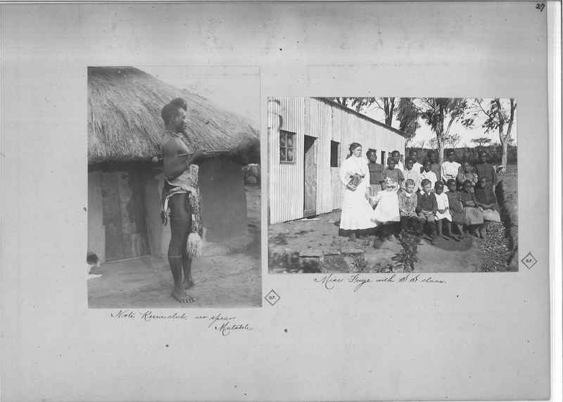Mission Photograph Album - Africa O.P. #4 page 0027