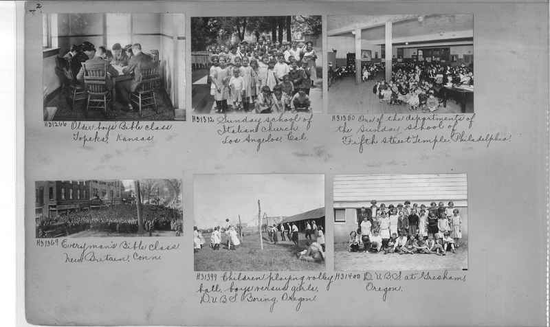 Mission Photograph Album - Religious Education #1 page 0002