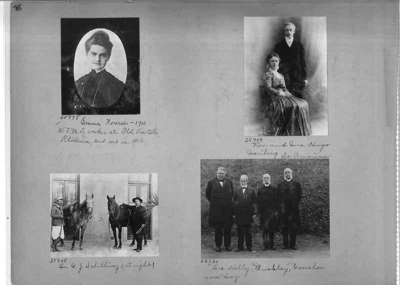 Mission Photograph Album - Portraits #1 page 0046
