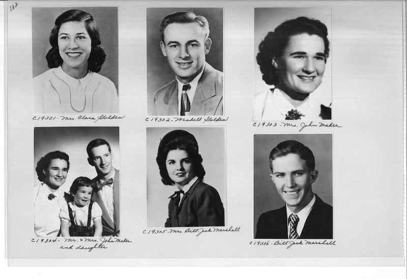 Mission Photograph Album - Portraits #08 Page 0132