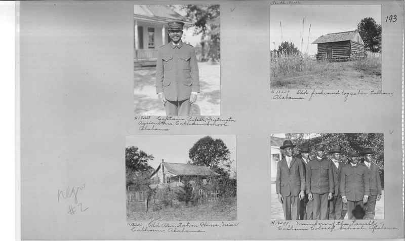 Mission Photograph Album - Negro #2 page 0193