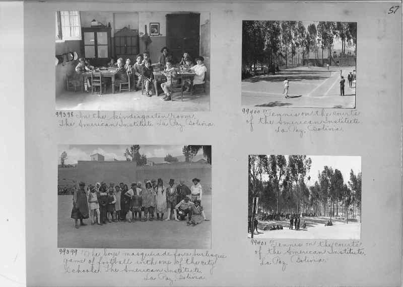 Misson Photograph Album - South America #8 page 0057