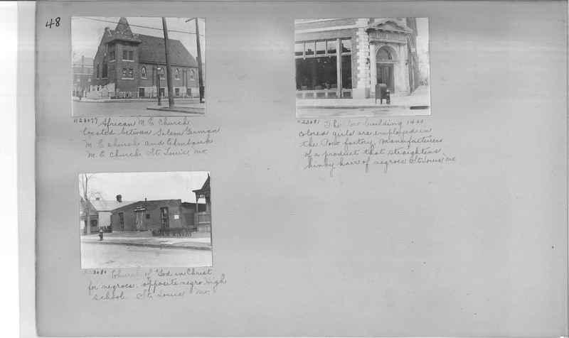 Mission Photograph Album - Negro #3 page 0048