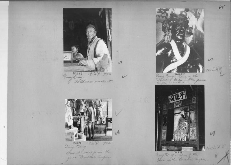 Mission Photograph Album - China #19 page 0045