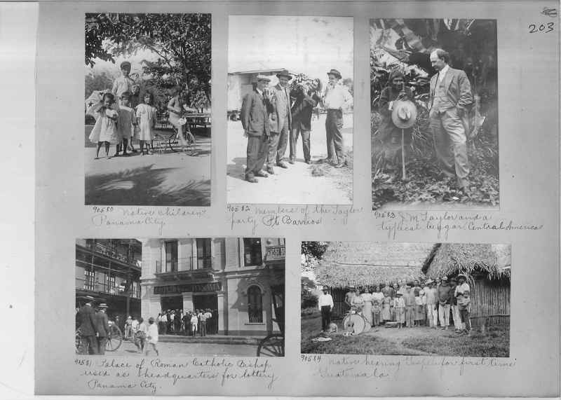 Mission Photograph Album - Panama #04 page 0203