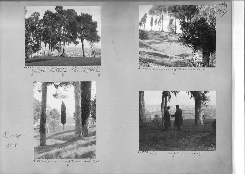 Mission Photograph Album - Europe #04 Page 0171