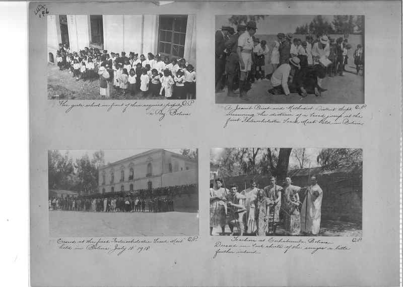 Mission Photograph Album - South America O.P. #1 page 0146