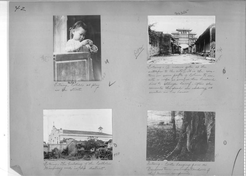Mission Photograph Album - China #19 page 0042