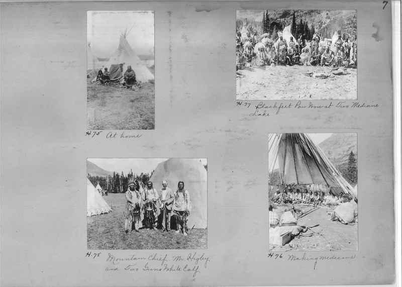 Mission Photograph Albums - Indians #1 page 0007