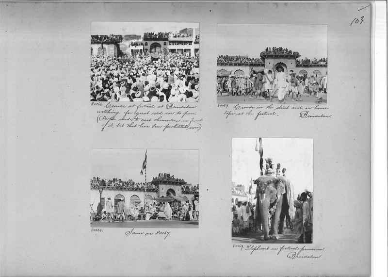 Mission Photograph Album - India #09 Page 0103