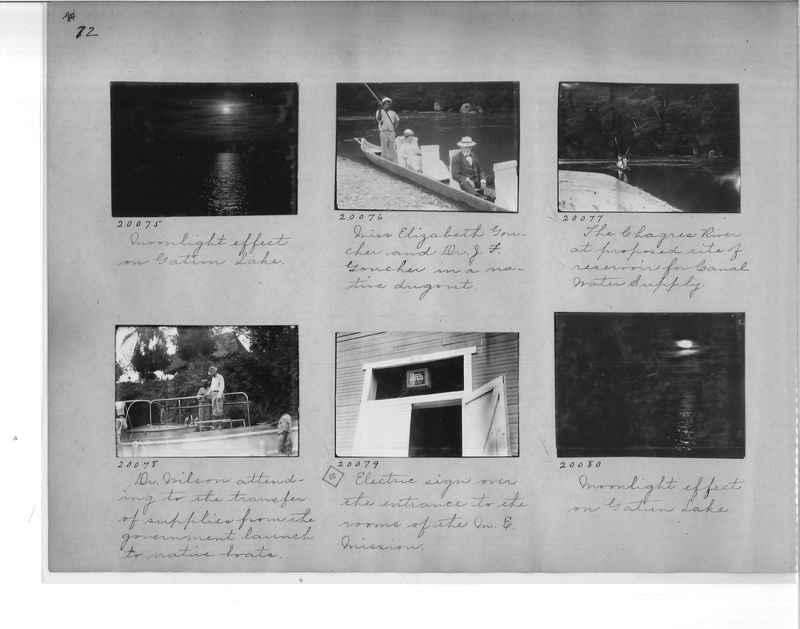 Mission Photograph Album - Panama #1 page  0072