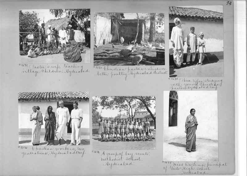 Mission Photograph Album - India #13 Page 0073