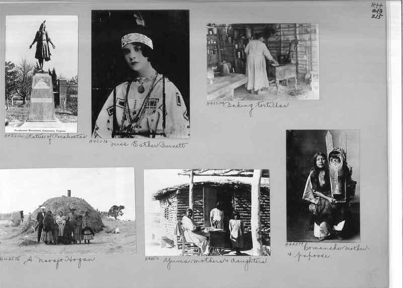 Mission Photograph Album - Indians #2 page_0215