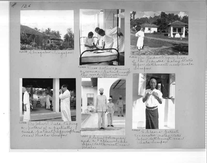 Mission Photograph Album - Malaysia #7 page 0126