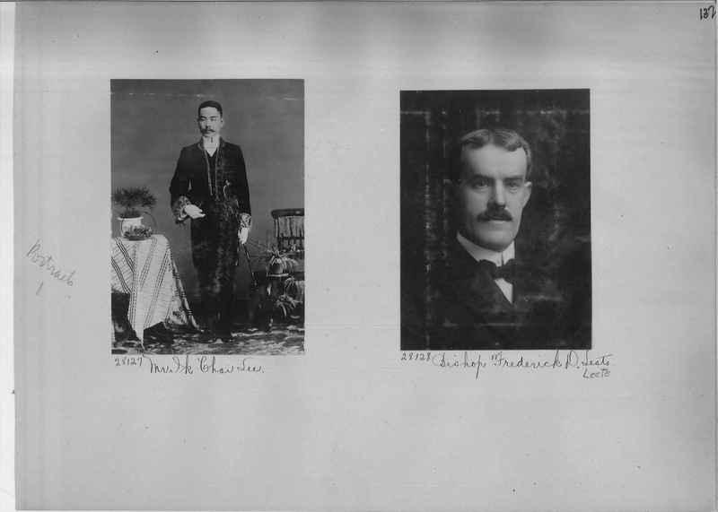 Mission Photograph Album - Portraits #1 page 0137