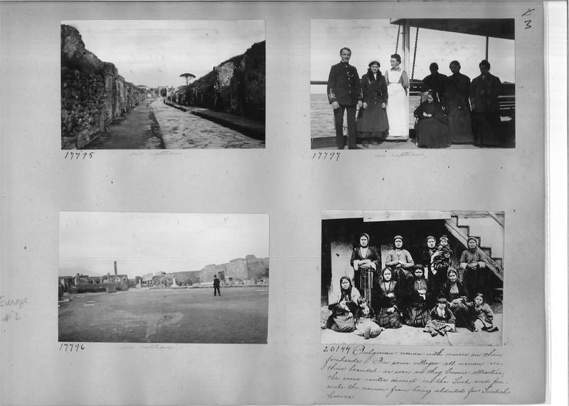 Mission Photograph Album - Europe #02 Page 0003