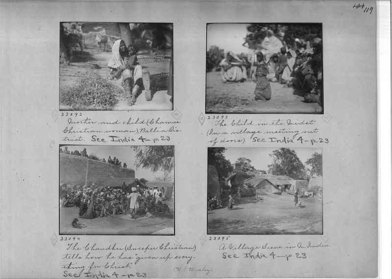 Mission Photograph Album - India - O.P. #01 Page 0117