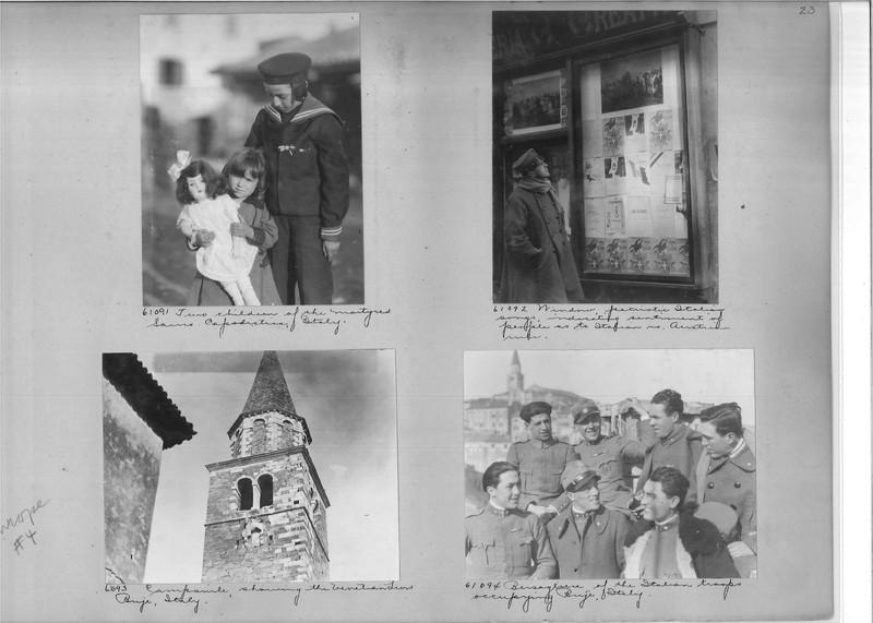 Mission Photograph Album - Europe #04 Page 0023