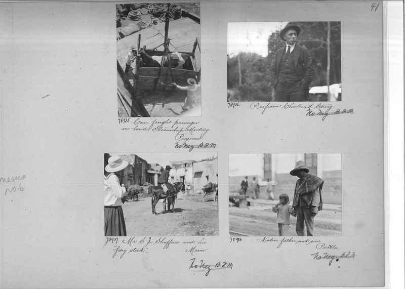 Mission Photograph Album - Mexico #06 page 0041