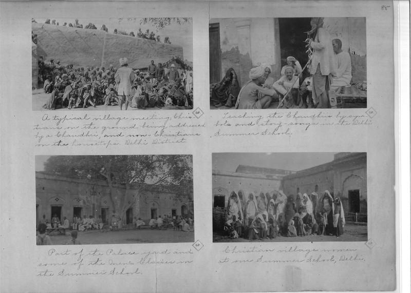 Mission Photograph Album - India - O.P. #02 Page 0085