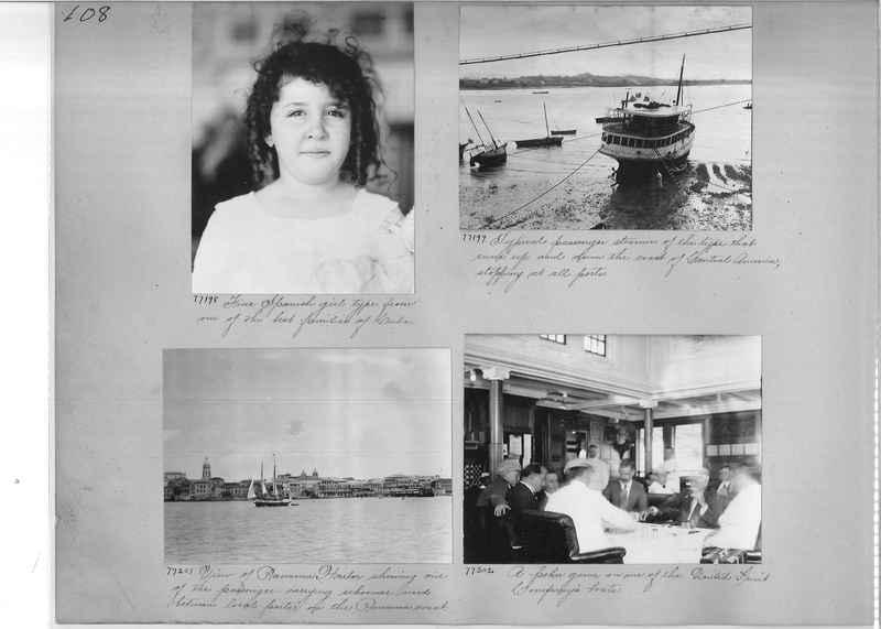 Mission Photograph Album - Panama #03 page 0108
