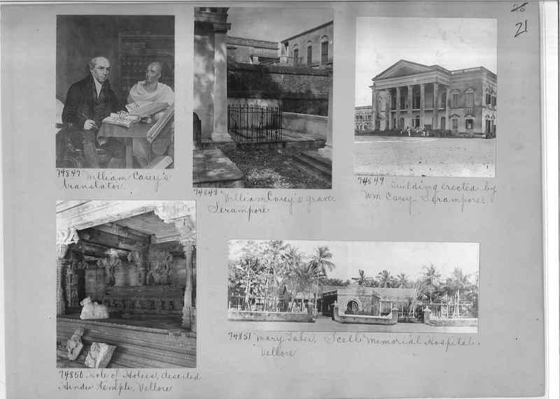 Mission Photograph Album - India #09 Page 0021