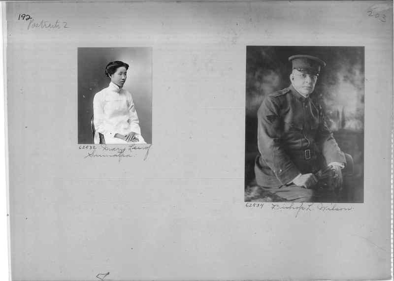 Mission Photograph Album - Portraits #2 page 0192