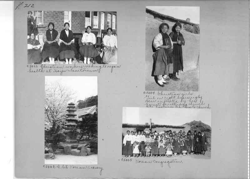 Mission Photograph Album - Korea #5 page 0212