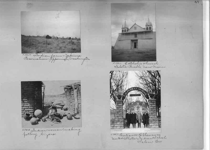 Mission Photograph Album - Indians #2 page_0049