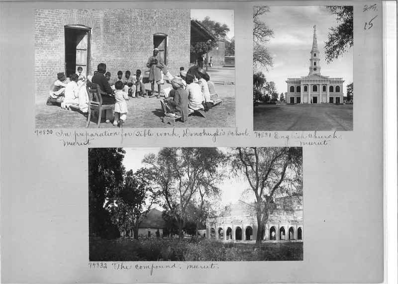 Mission Photograph Album - India #09 Page 0015