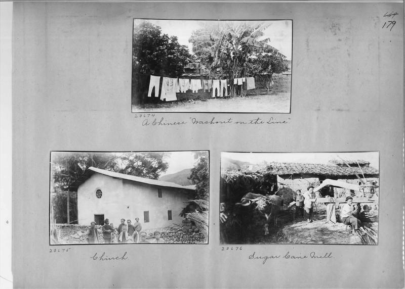 Mission Photograph Album - China #6 page 0179