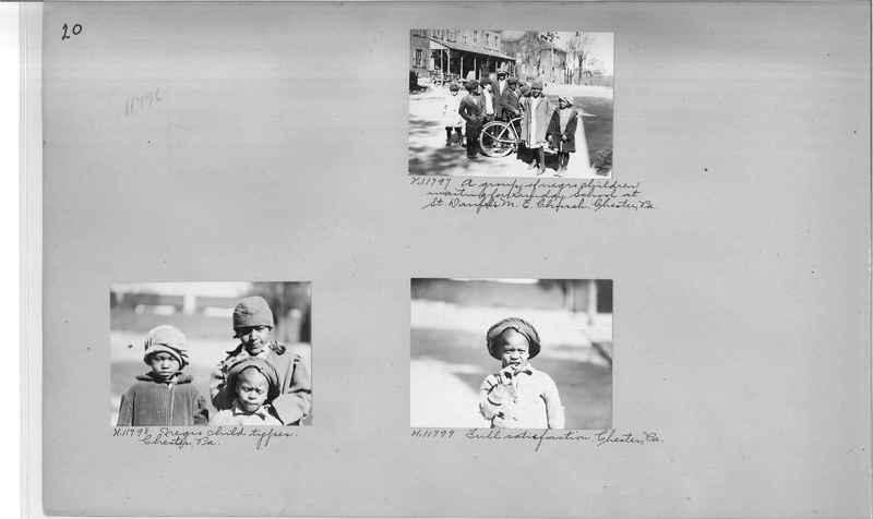 Mission Photograph Album - Negro #2 page 0020