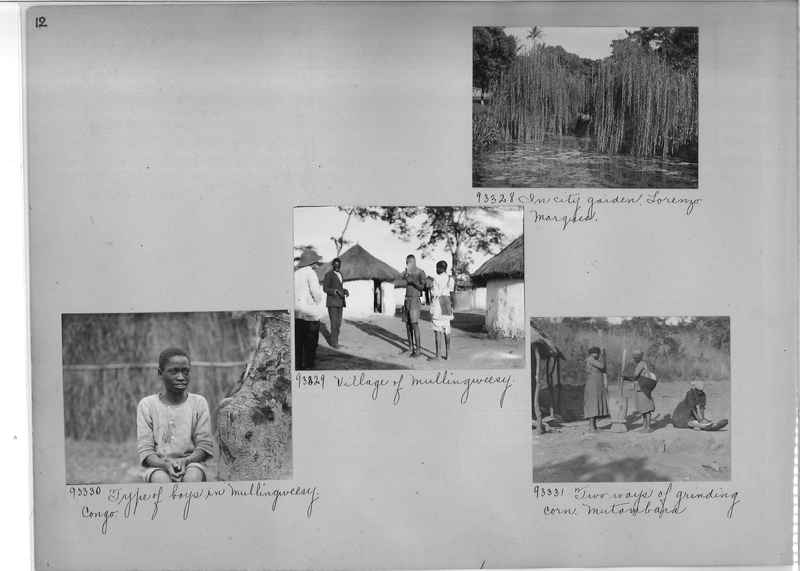 Mission Photograph Album - Africa #14 page 0012