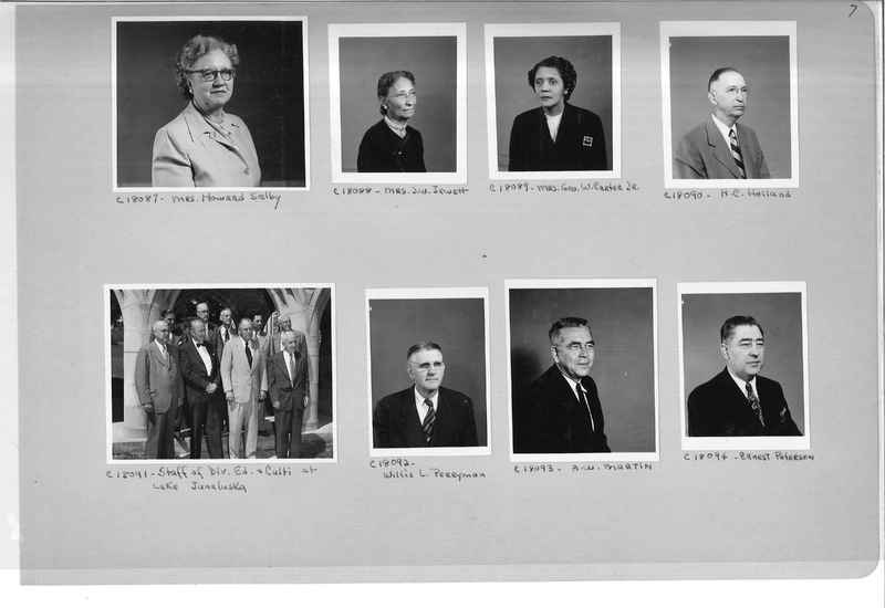 Mission Photograph Album - Portraits #08 Page 0007